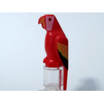 LEGO Red Parrot with Colored Wings