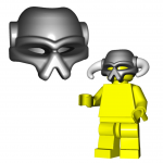 "LEGO ""Invader"" Helmet by Brick Warriors"