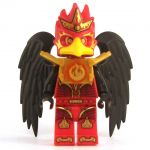 LEGO Aarakocra - Red, Male