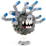 LEGO Beholder, Dark Gray with Light Gray Eyestalks