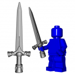 "LEGO ""Paladin"" sword by Brick Warriors"
