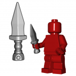LEGO Pugio Dagger by Brick Warriors