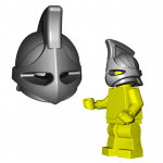 "LEGO ""Rhino"" Helmet by Brick Warriors"