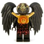 LEGO Aarakocra or Wereraven, Black and Gold