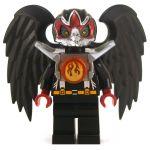 LEGO Aarakocra or Wereraven, Black and Silver