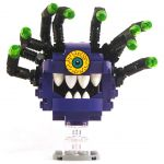 LEGO Beholder, Purple with Black Eye Stalks, Crazy Eye
