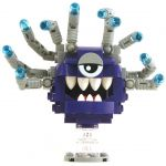 LEGO Beholder, Purple with Gray Eyestalks, Blue Eyes
