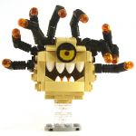 LEGO Beholder, Tan with Black Eye Stalks, Angry Eye