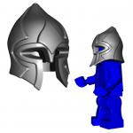 "LEGO ""Paladin"" Helmet by Brick Warriors"