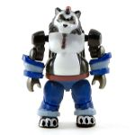 LEGO Complete Figure, Panda Bearkin, Mega Bloks, Blue Outfit
