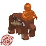 "LEGO Centaur Body, ""Scout"", Reddish Brown, by Brick Forge"