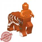 "LEGO Centaur Body, ""Stormer"", Dark Orange, by Brick Forge"