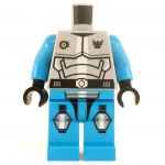 LEGO Azure Blue Outfit with Full Plate Mail