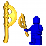 LEGO Crescent Axe by Brick Warriors