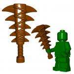 "LEGO ""Lizardman"" Sword (Mace/Spiked Club) by Brick Warriors"