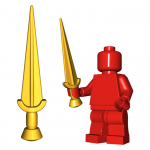"LEGO ""Nauhe II"" Sword by Brick Warriors"