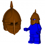 "LEGO ""Crossbowman"" Helm by Brick Warriors"