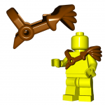 LEGO Gladiator Pauldron by Brick Warriors, Brown