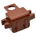 LEGO Backpack with Side Clips, Reddish Brown