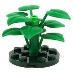 LEGO Shrub (or Awakened Shrub), 6 large leaves