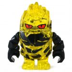 LEGO Magma Elemental, Medium, Thick, Yellow (Also Medium Crystal Golem)