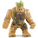 LEGO Golem, Wood (large, light brown)