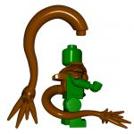 LEGO Barbed Tail (Half-Dragon/Dragonborn/Tiefling Tail) by Brick Warriors