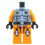 LEGO Orange Outfit with Full Plate Mail