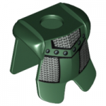 LEGO Breastplate with Leg Protection, Dark Green with Chain Mail Print