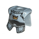 LEGO Breastplate with Leg Protection, Crown Print