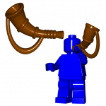 LEGO Battle Horn by Brick Warriors