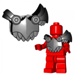 "LEGO Scaled Armor (""Demon"" Armor) by Brick Warriors  (w/Wing Clips and Tail Stud)"