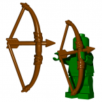 LEGO English Longbow by Brick Warriors