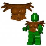 "LEGO ""Harpy"" Armor by Brick Warriors (w/Wing Clips and Tail Stud)"