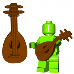 LEGO Lute by Brick Warriors