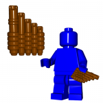 LEGO Pan Pipes (Reed Pipes) by Brick Warriors