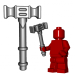 LEGO Skull Crusher Hammer by Brick Warriors