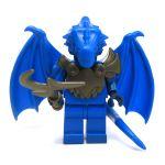 LEGO Half-Dragon, Blue (Half-Blue Dragon Veteran)