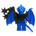 LEGO Half-Dragon, Blue (Half-Blue Dragon Veteran), v2