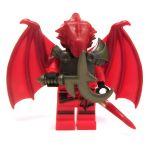 LEGO Half-Dragon, Red (Half-Red Dragon Veteran)