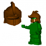 "LEGO ""Ranger"" Helm by Brick Warriors"