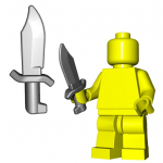 LEGO Bowie Knife by Brick Warriors