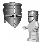 "LEGO ""Crusader"" Helm by Brick Warriors"