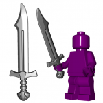 LEGO Falchion Sword by Brick Warriors