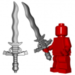 LEGO Flamberge Sword by Brick Warriors