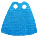 LEGO Custom Cape / Cloak, Azure Blue Stretch Fabric