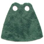 LEGO Custom Cape / Cloak, Deep Green Textured