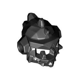 LEGO Spiked helmet with side holes
