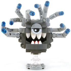 LEGO Beholder, Dark Bluish Gray with Light Gray Eyestalks