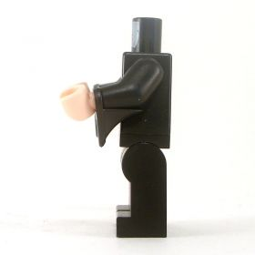 LEGO Black Overcoat over Red and Gold Vest, White Shirt, Wizard Sleeves